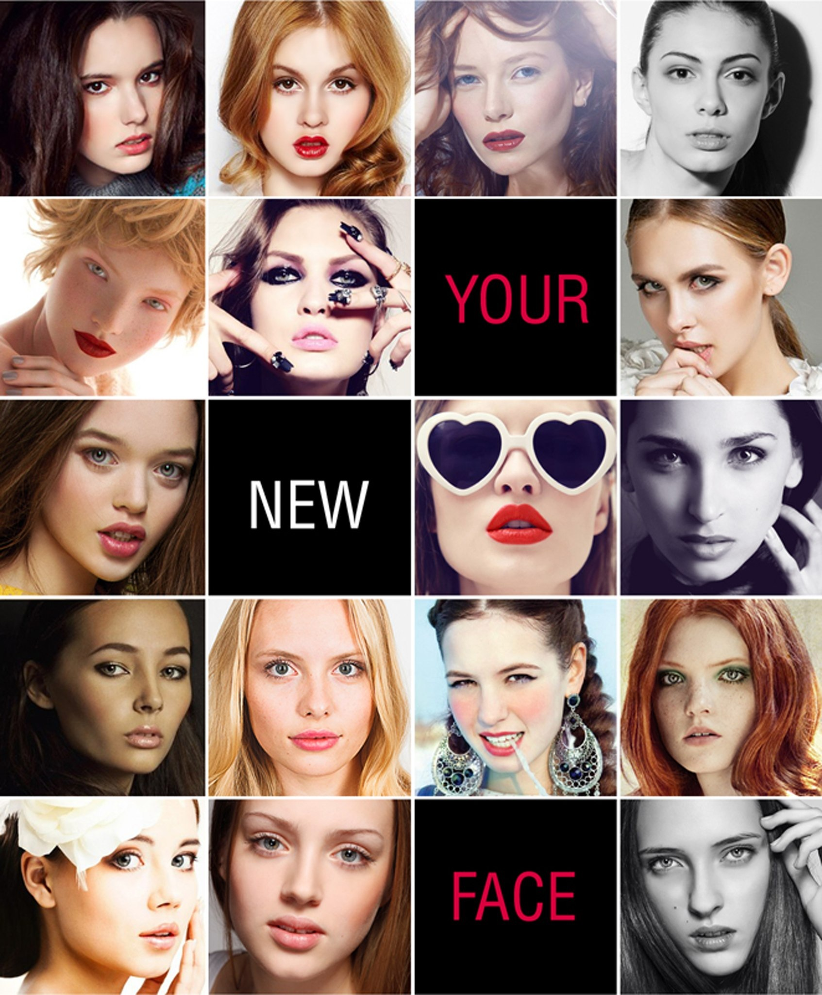 Your new face